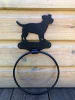 Jack Russell Towel Ring