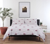 Red Tractor Double Duvet Set