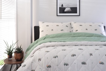 Off Roading Bed Spread