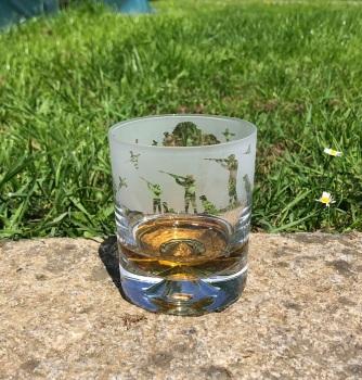 Shooting Scene Whisky Tumbler