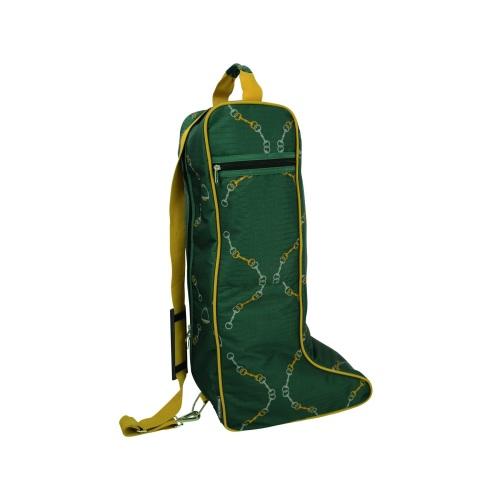 Elegant Stirrup and Bit Boot Bag