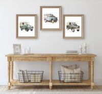 Trio of Land Rover Prints