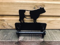 Belted Galloway Loo Roll Holder