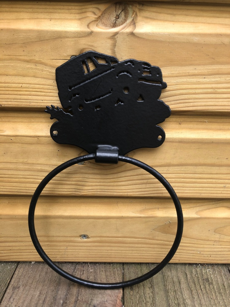 Land Rover Tractor Towel Ring