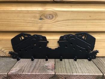 Land Rover 6 Hook Key Rack