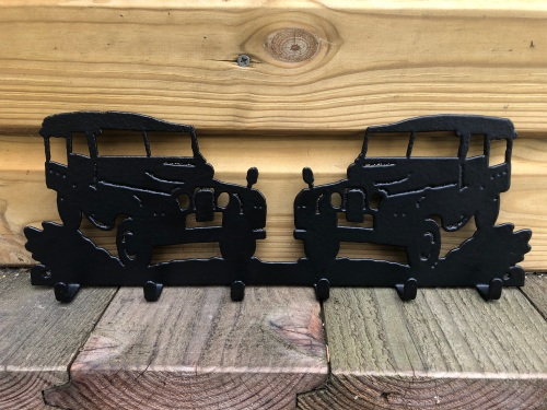 Series Land Rover 6 Hook Key Rack