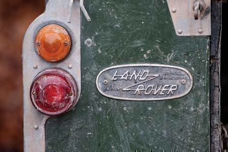 Old Land Rover Card