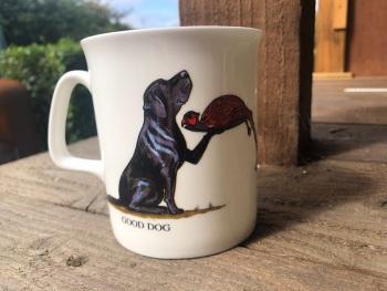 Good Dog Bad Dog Fine Bone China Mug