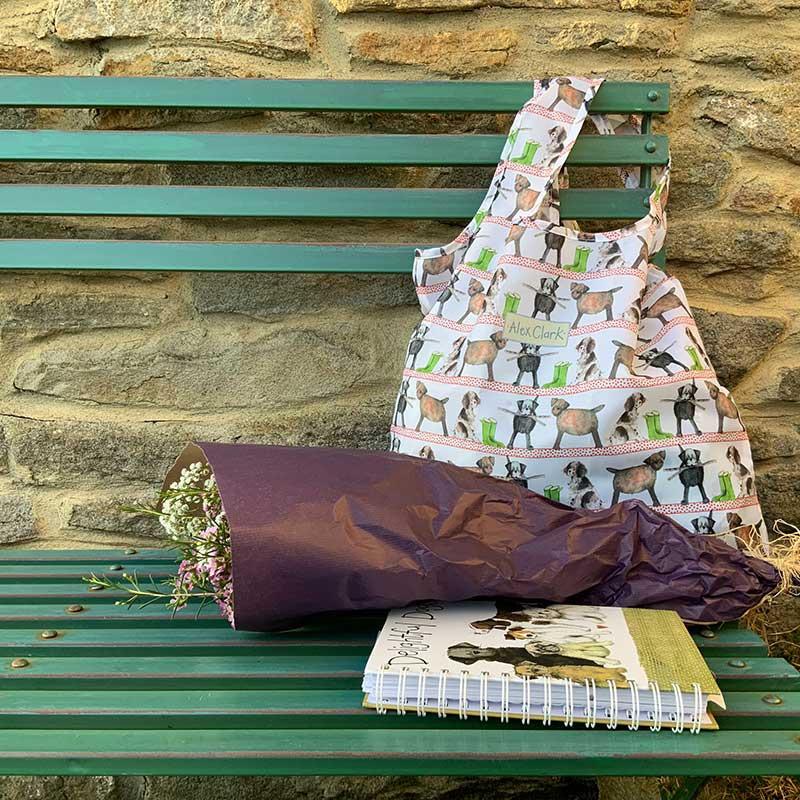 Country Dogs Reusable Shopping Bag