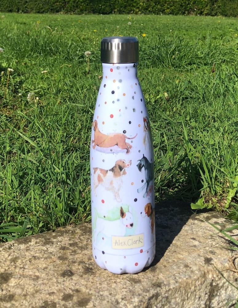 Delightful Dogs Stainless Steel Water Bottle