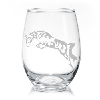 Jumper Stemless Wine Glass
