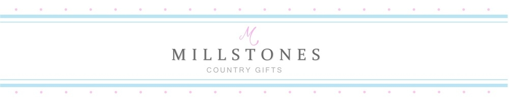 Millstones Country Gifts, site logo.
