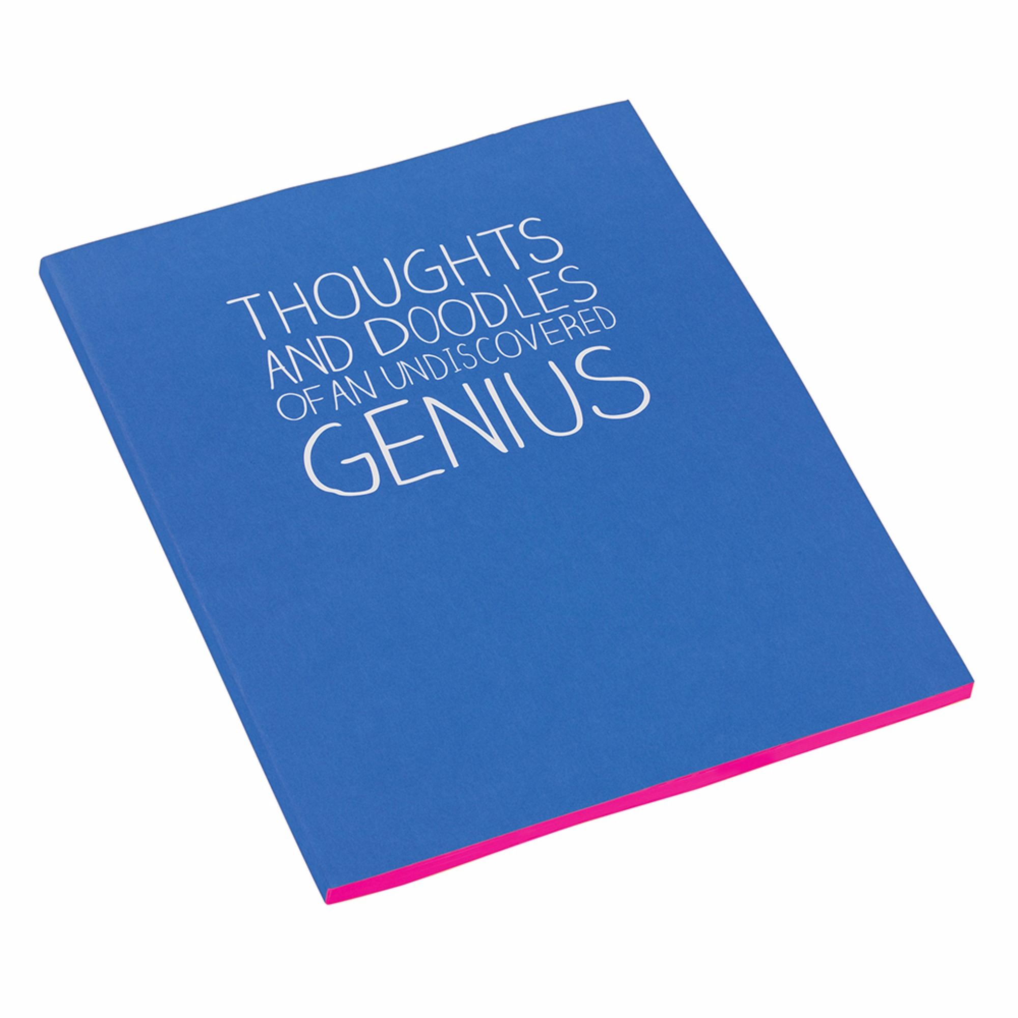 Happy Jackson 'Thoughts And Doodles' A5 Medium Notebook Stationery & School Equipment
