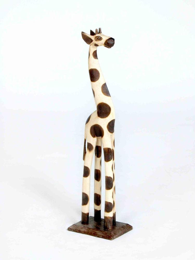 Wooden Giraffe 40cm