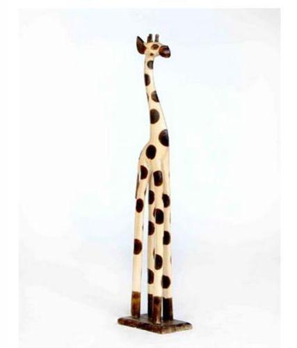 80cm Wooden Giraffe
