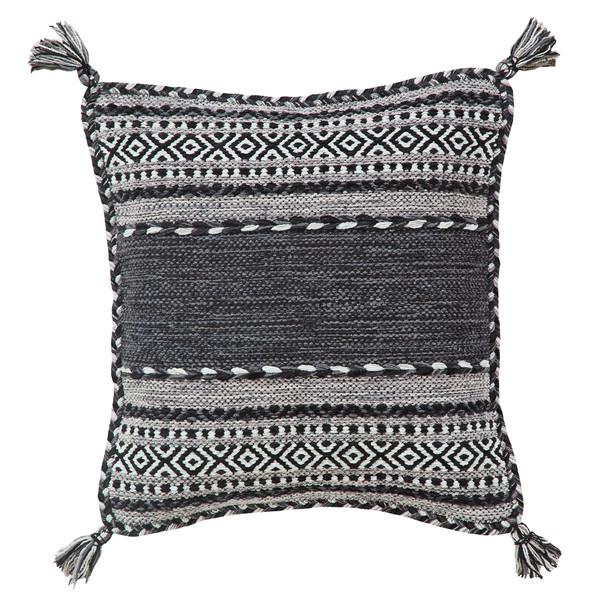 Pair of Kelim Grey Cushion Covers