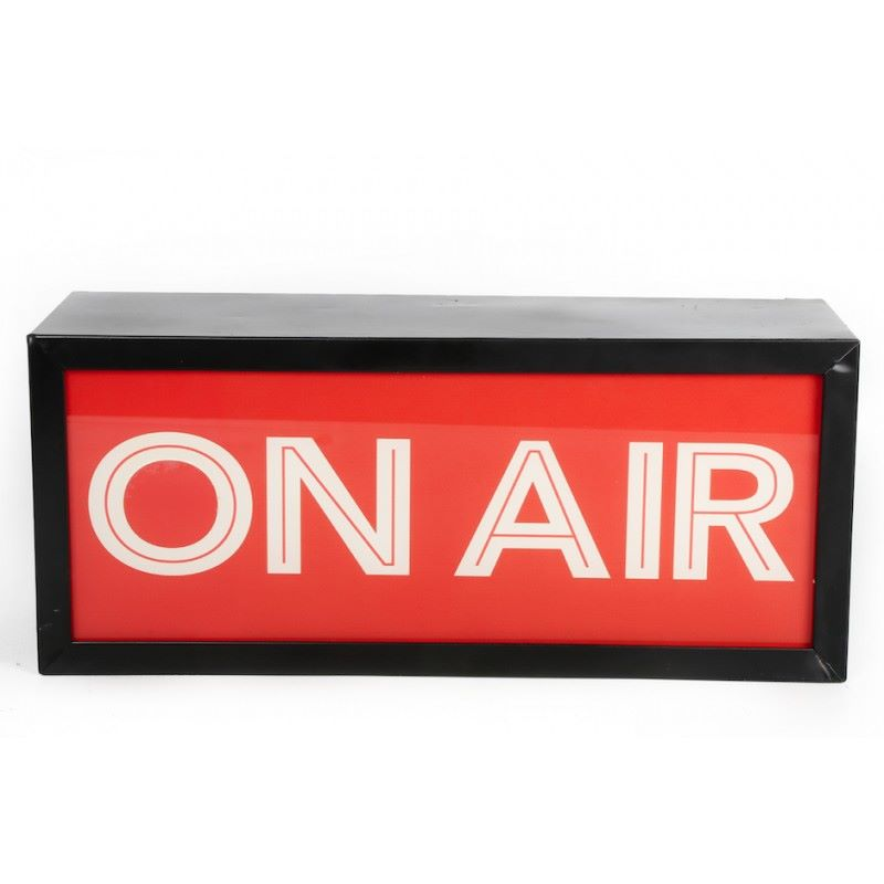 On Air Light Up Box Sign