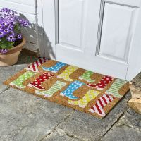 Wacky Wellies Coir Doormat