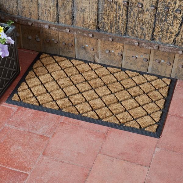 Heavy Duty Diamond Coir Doormat