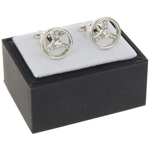 Equilibrium Steering Wheel Cufflinks