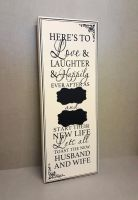 Large Wedding Chalkboard Sign