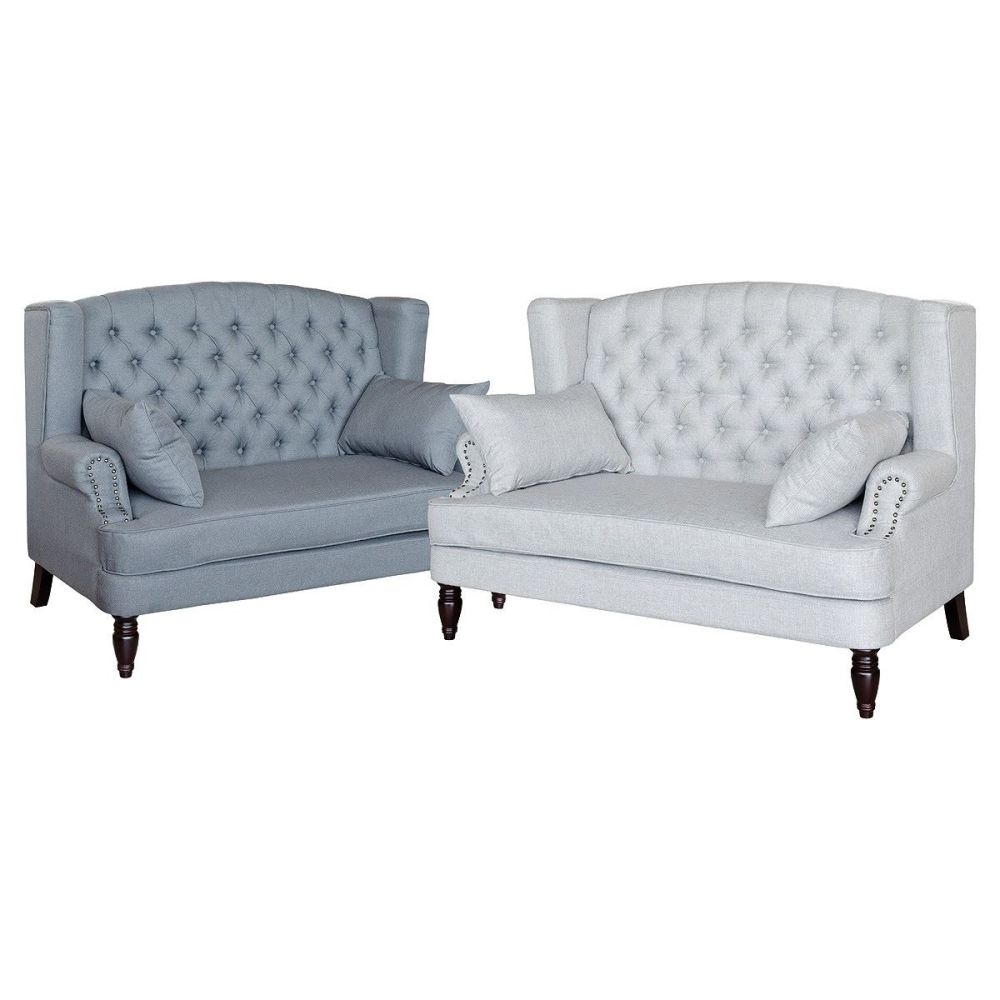 Silverdale 2 Seater Sofa - Light or Dark Grey