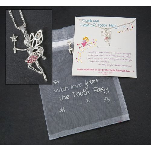Equilibrium Tooth Fairy Necklace Gift Set
