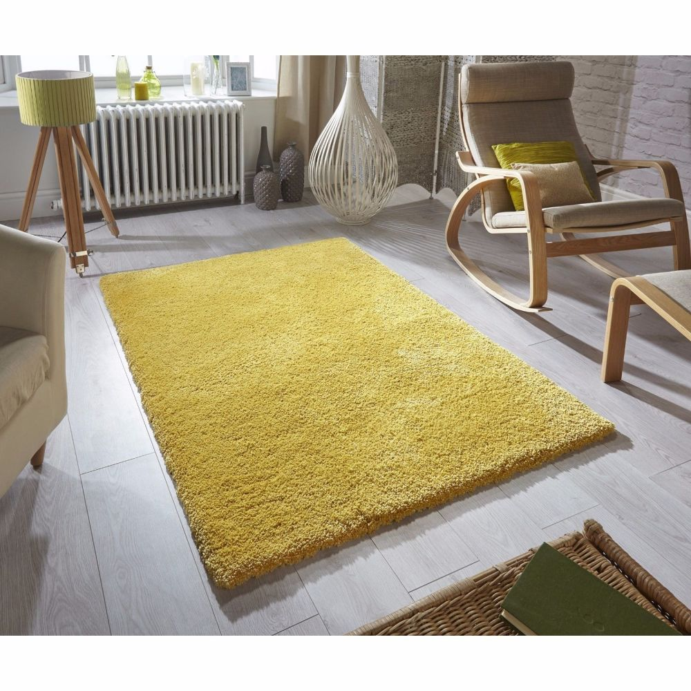 Softness Mustard Rug    (4 sizes)