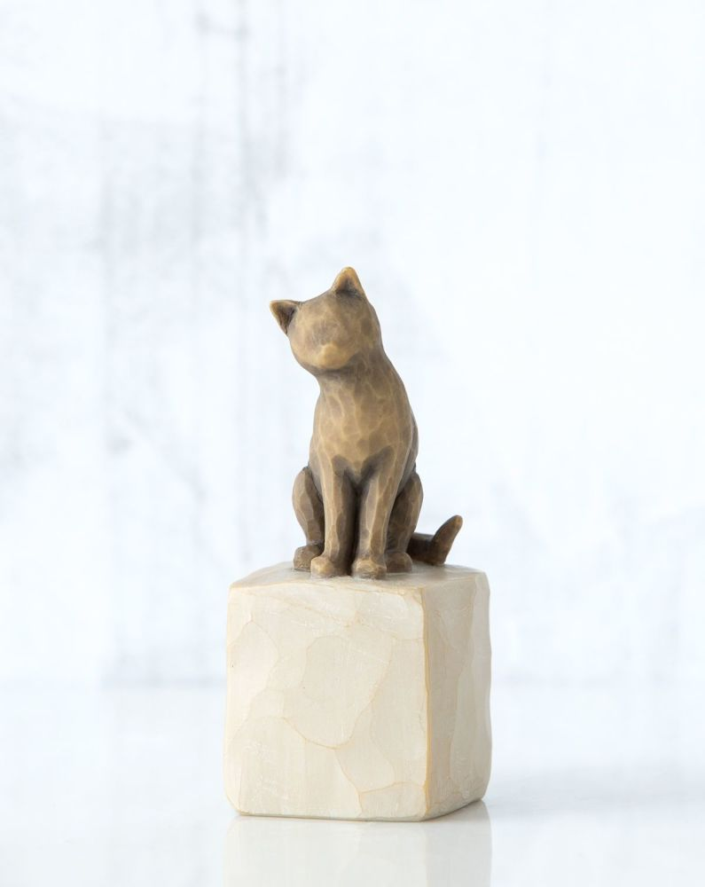 Willow Tree - Love my Cat Figure