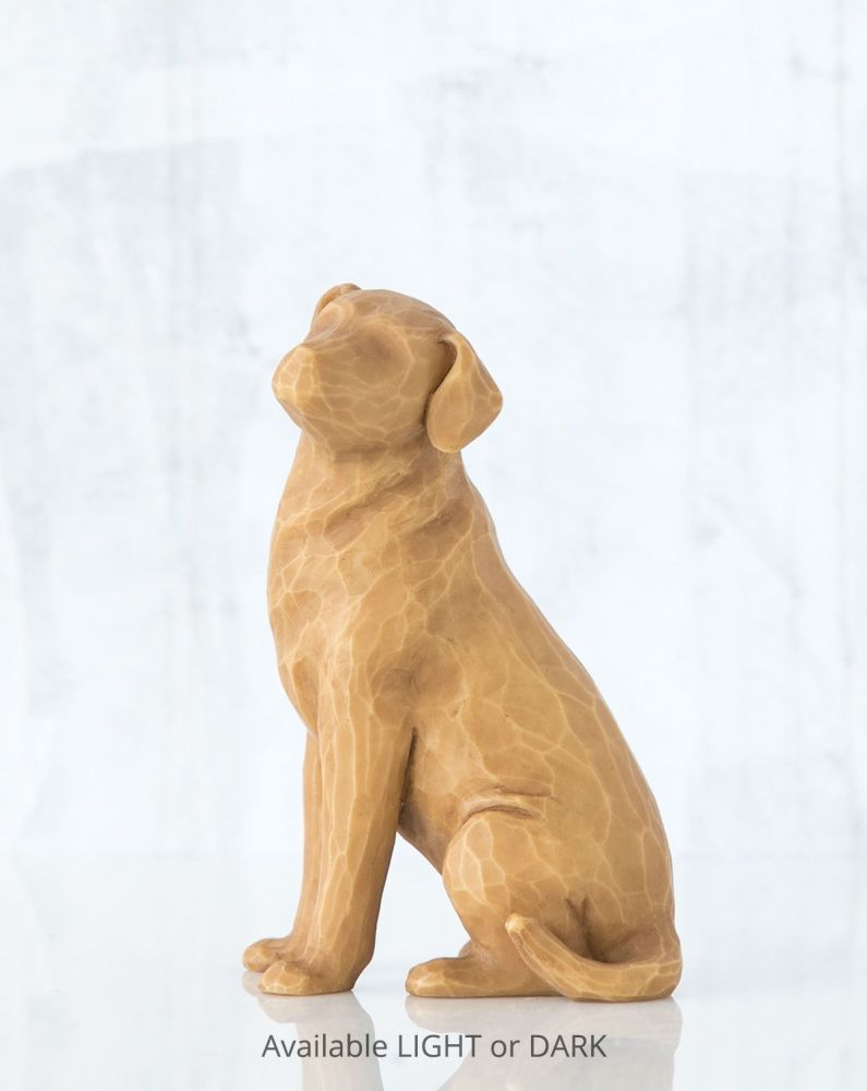 Willow Tree - Love my Dog (Light) Figure