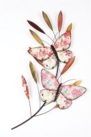 Butterflies on Branch Wall Art