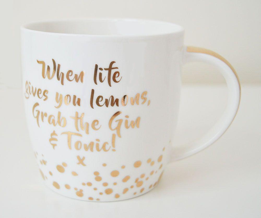Gin Mug, Gold Edition