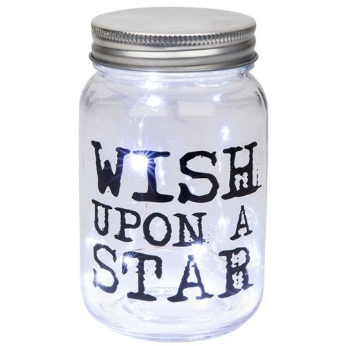 Wish Upon A Star LED Firefly Jar