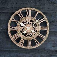 Outdoor Mechanical Cog Wall Clock
