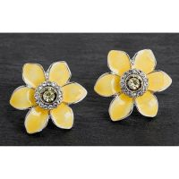 Equilibrium Yellow Daffodil Earrings