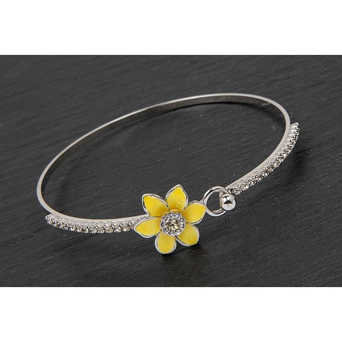 Equilibrium Yellow Daffodil Bangle