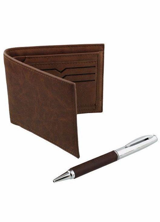 Harvey Makin Mens Wallet & Ball Point Pen Gift Set