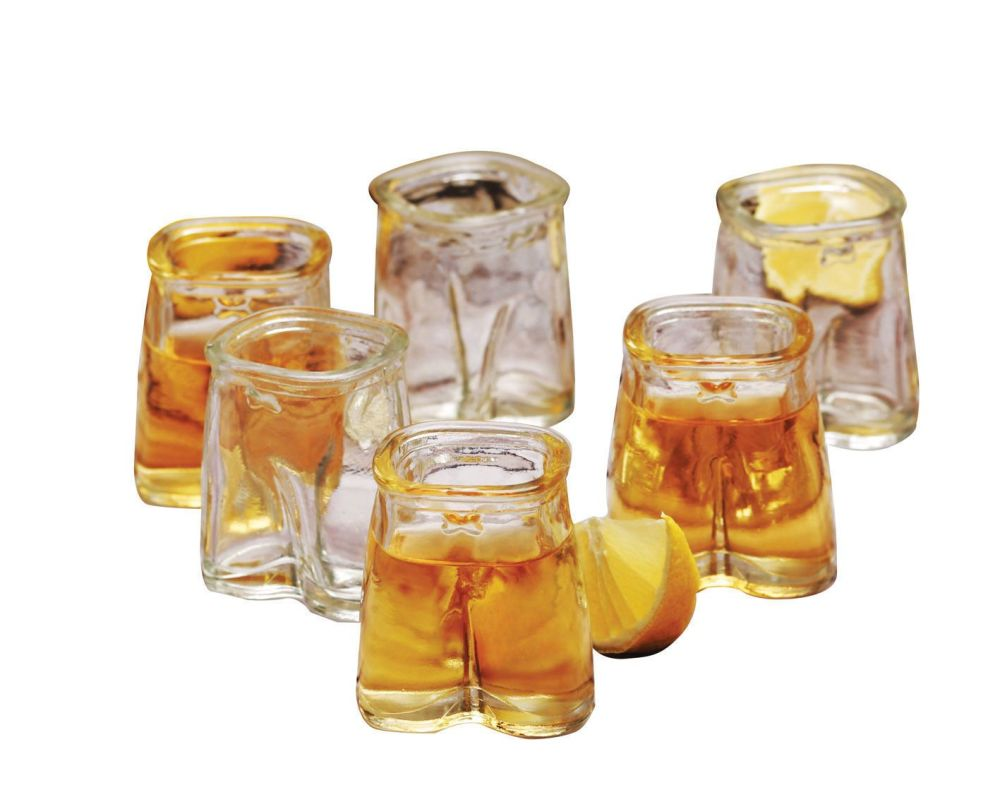 Mens Pants Shot Glasses