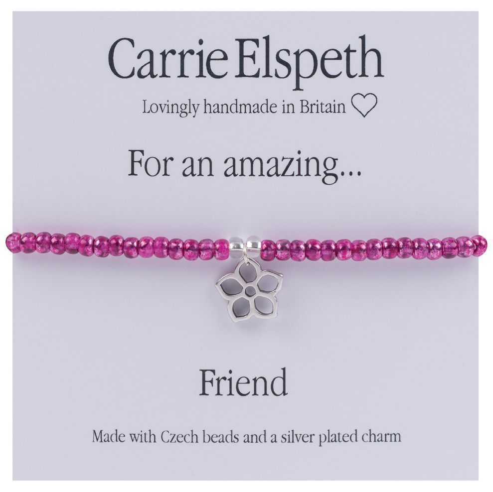 Carrie Elspeth Bracelet 'For an Amazing Friend' Gift Card Friend Thank You