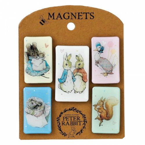 Beatrix Potter Characters Magnet Set Peter Rabbit