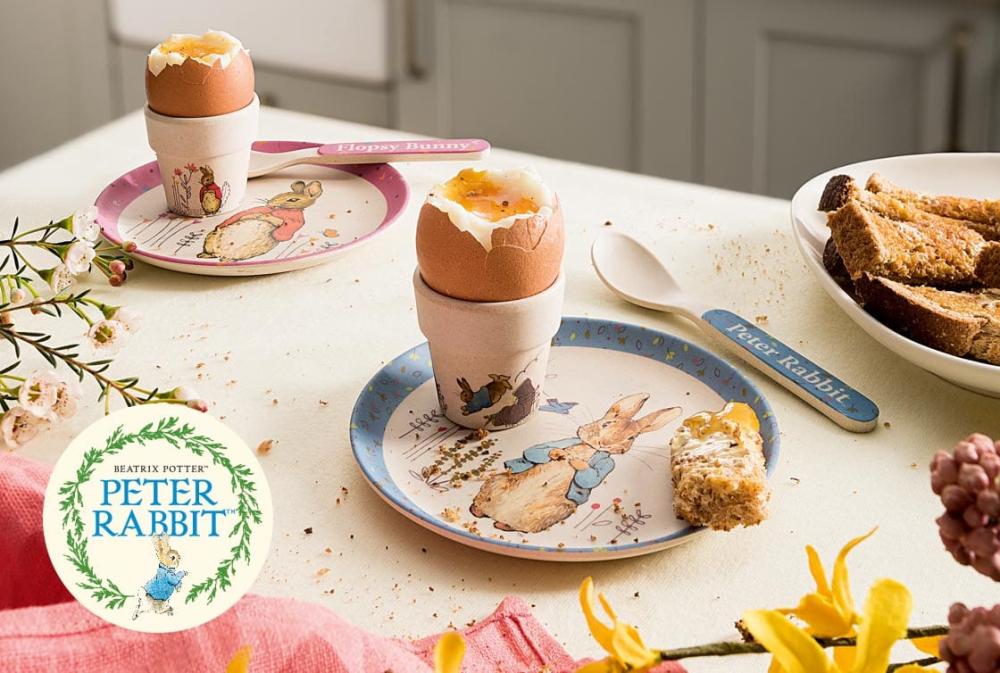 Peter Rabbit Easter Egg Cups
