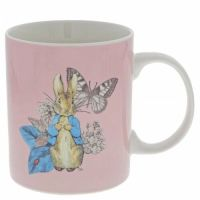 Peter Rabbit Garden Party Pink Bone China Mug