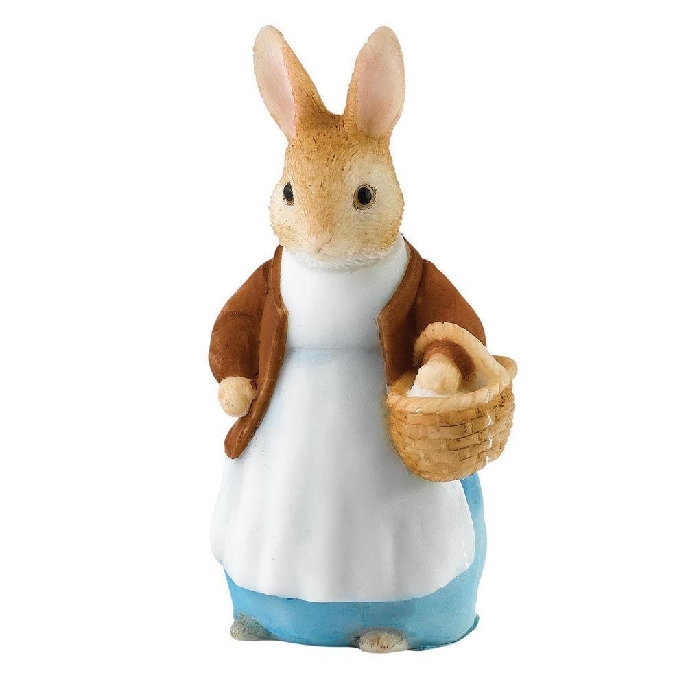 Border Fine Arts Beatrix Potter Peter Rabbit Mrs Rabbit Mini Figurine