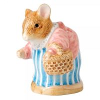 Border Fine Arts Beatrix Potter Peter Rabbit Mrs. Tittlemouse Figurine