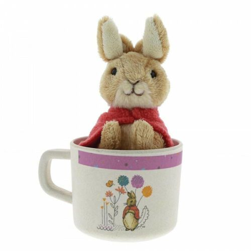 Peter Rabbit Flopsy Bamboo Mug & Soft Toy Gift Set