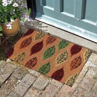 Autumn Leaves Coir Doormat