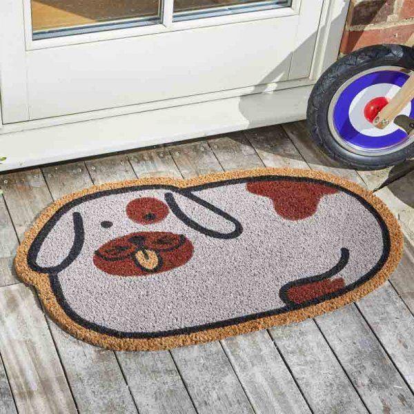 Spotty Dog Coir Doormat