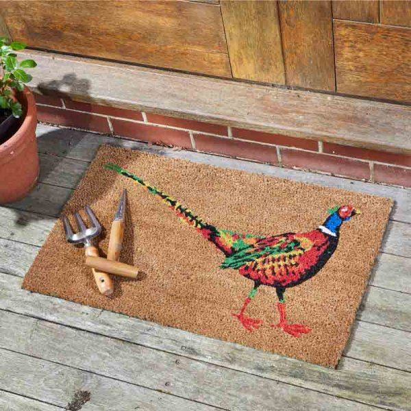 Le Faisan -The Pheasant Coir Doormat