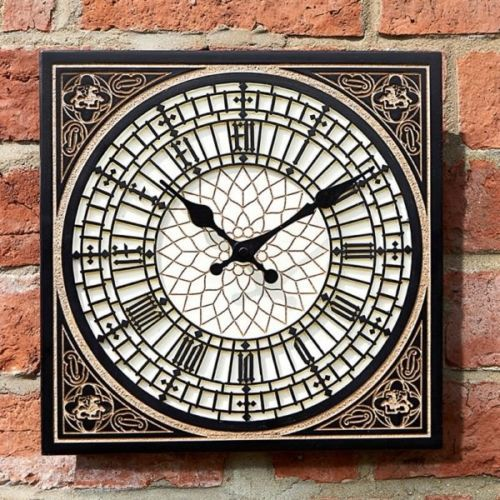 Outdoor Little Ben Wall Clock