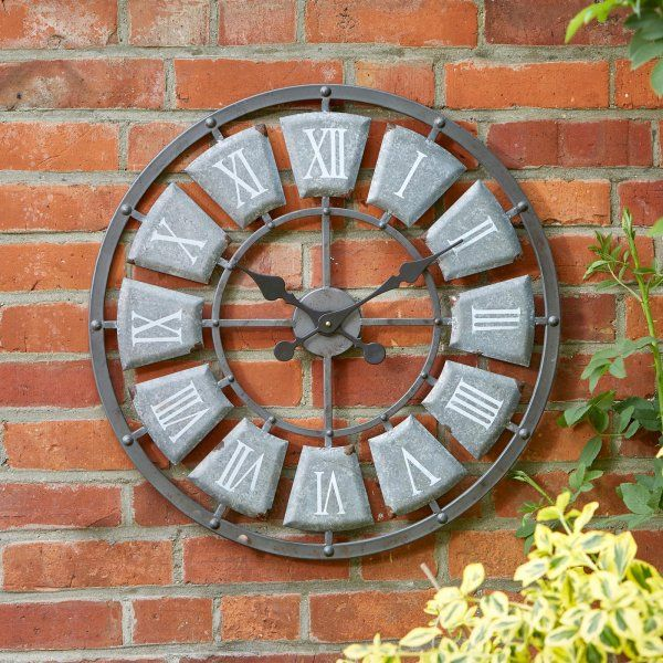 Extra Large Outdoor Lincoln Wall Clock